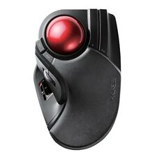 ELECOM Trackball wireless mouse Large tapper M-HT1DRBK JAPAN Free Shipping