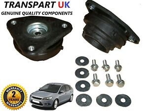 FORD FOCUS MK2 C-MAX FRONT SHOCK ABSORBER TOP STRUT MOUNT 2005 ON NEW PAIR