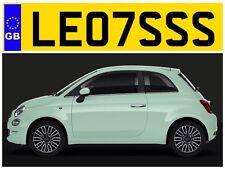 LE07 SSS LES LESLEY LESLEYS LESLIE LESLIES LEZ LEZZA PRIVATE NUMBER PLATE LESLY