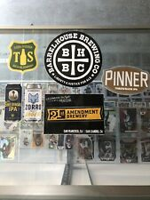 (6) Craft Beer Sticker Lot