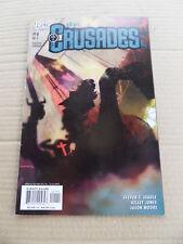 Crusades , The 1 . B.Sienkiewicz Cover . DC / Vertigo 2001 . FN / VF