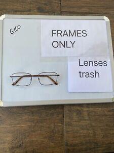 Flexon Benjamin 600 210 56 18 145 Eyeglasses Black Chrome Rectangle G160