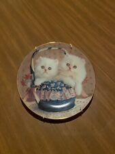 Susan Leigh Collector Plate, Tiffy And Taffy