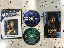 TOMB RAIDER CHRONICLES CON LARA CROFT PARA PC EDICION 2 DISCOS USADO COMPLETO