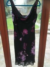 Fabulous Jones New York dress size 12 black and floral