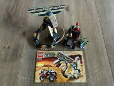 Pharaoh's Quest LEGO 7325 Cursed Cobra Statue 100% Complete Great Condition