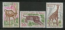 1965 MALI Set of 3 USED STAMPS (Michel # 100-102)