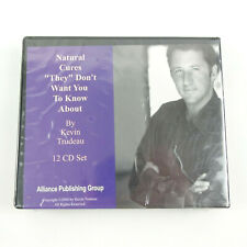 New 12 Disc CD Kevin Trudeau Natural Cures They Don't Want You to Know About