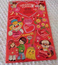 Valentine Playbook Valentines Envelopes Games & Puzzles Valentine Doll & clothes