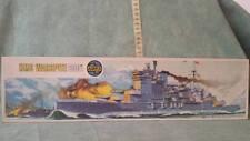 AIRFIX HMS WARSPITE 600 SCALE NAVE DA GUERRA VINTAGE TOYS BRAND NEW
