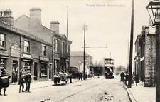 Town Street Stanningley Shop Tram (A) Nr Pudsey Bradford Leeds pc C F Wilkinson