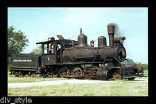 Louisiana Cypress Lumber Co #2 steam 2-6-0 Mogul locomotive railroad postcard