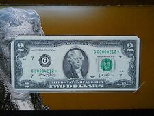 2003 $2 *Star* FRN W/Low Serial Numbers (CCU)