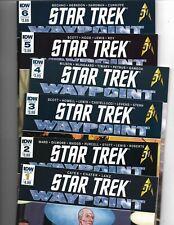 Star Trek: Waypoint #1-6 complete mini-series