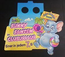 """Original Palettenanhänger """"Funny Fanten im Cluburlaub"""" Deutschland 1995 Serien"""