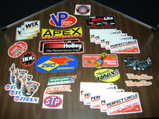 Mechanic Auto Racing Decals Stickers lot of 34 NOS vintage