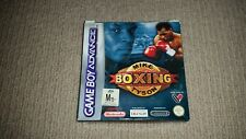 Mike Tyson Boxing Nintendo Gameboy Game Boxed, Cleaned & Tested