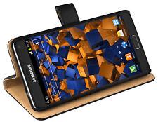 mumbi Leder Tasche für Samsung Galaxy Note 4 Hülle Schutzhülle Wallet Etui Case