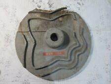 Vintage Industrial Pattern Wood Marked Buffalo Weaving D33 BWB106