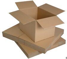 Single Walled Boxes, 12 x 9 x 9 / 7 / 6 Cardboard Postal Box Mailing 25 50 100