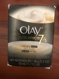 Olay total effects 7-IN-1 anti aging night firming treatment 1.7 oz