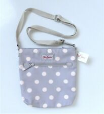 Cath Kidston Travel Cross Body Bag ~ Grey Button Spot ~ BNWT