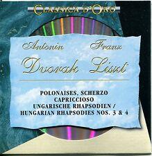 CD-Antonin Dvorak/Franz Liszt – polonaises, danse, Hongrois Rapsodies