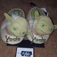 Star wars Yoda slippers toddler size 9/10 V1