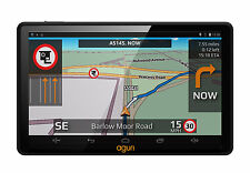 Aguri Truck TX520 DVR sat nav with built-in dash cam and UK & Ireland mapping