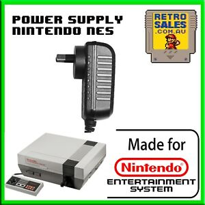 Nintendo PAL NES Power Supply Adapter Pack for NES Console AU Plug Replacement