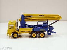 """Mack Concrete Pumper - """"ELBA"""" - 1/50 - Conrad #3681 - N.Mint - No Box"""