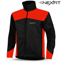Mens Cycling Waterproof Rain Jacket Hi Visibility Running Full Sleeve Coat Top