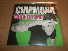 "CHIPMUNK "" LOOK FOR ME "" CD SINGLE PROMO EXCELLENT"