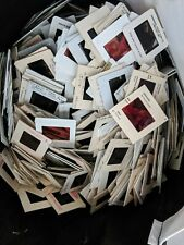150 Vintage Photo Slides Mixed Estate Lot Old Pictures Photography Craft Supply