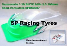 Carrozzeria Body 1/10 BLITZ ALTIS 2.3 200mm Semi Paint Green Fluo T60109SG