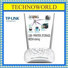 TP-LINK WIRELESS MODEM ROUTER◉TD-W8968◉300Mbps◉WIRELESS N USB ADSL2+◉3G◉USB PORT