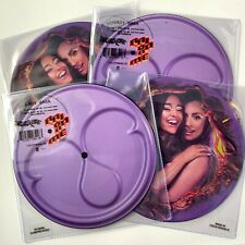 """Lady Gaga Ariana Grande LIMITED EDITION Rain On Me 7"""" Picture Disc Vinyl Record"""