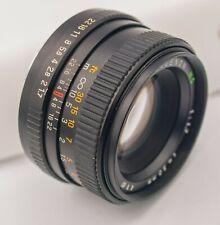 Rare - Auto Revuenon MC 50mm F1.7 Pentax K Mount Prime Lens
