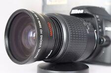 Macro Wide Angle Fisheye Lens for Nikon dslr d5500 d3300 d50 d40 52mm Polarizer