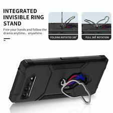 Armor Case for ASUS ROG Phone 5 5s Air Trigger Ring Kickstand Cover Protection