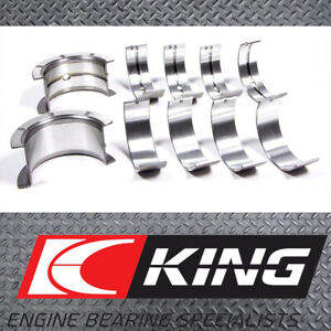 King (MB5568AM STD) Main Bearings suits Honda D16A3 (DOHC 16 Valve) Integra