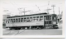 6E835 RP 1940/50s INDIANAPOLIS STREET RAILWAYS ? CAR #801