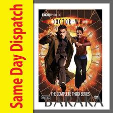 DOCTOR Dr WHO Complete Third Series Season 3 R4 DVD Box Set 6 discs BBC