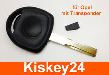 Key Casing with transponder For Opel Astra Vectra Omega CORSA COMBO