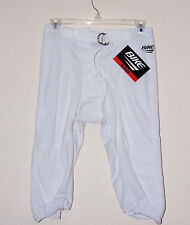 "Bike Athletic FOOTBALL Pants White Size L LARGE W 30""- 32"" Youth Boys Kid 16-18"