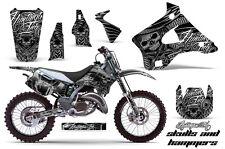 KAWASAKI KX 125/250 Graphic Kit AMR Racing # Plates Decal Sticker Part 94-98 SHS