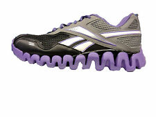 Reebok Kids shoe Zig Tech Zig Energy Black gs Big Kids Junior V43330 Sz 4.5  5.5
