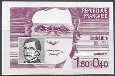 PERSONAGGI FAMOSI N°2328 FRANCOBOLLO NON DENTELLATO IMPERF 1984 NEUF MNH