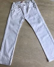 """JEANS """"LEVIS"""" 510 SKINNY """"BLANC - TAILLE : 8 ANS"""