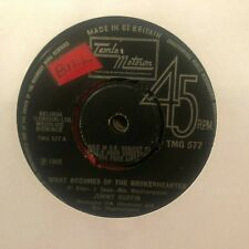 "JIMMY RUFFIN WHAT BECOMES OF THE BROKENHEARTED 1966 MOTOWN SOUL 7"" VINYL"